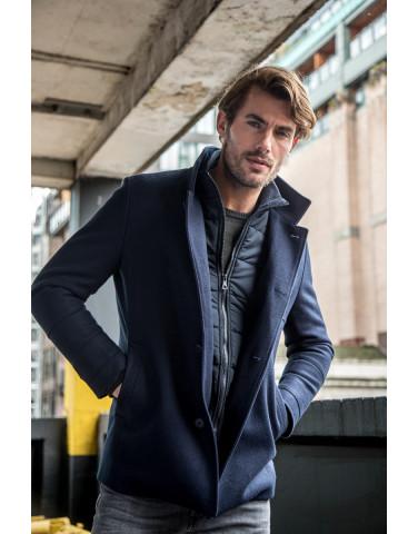 Blue Industry Coat